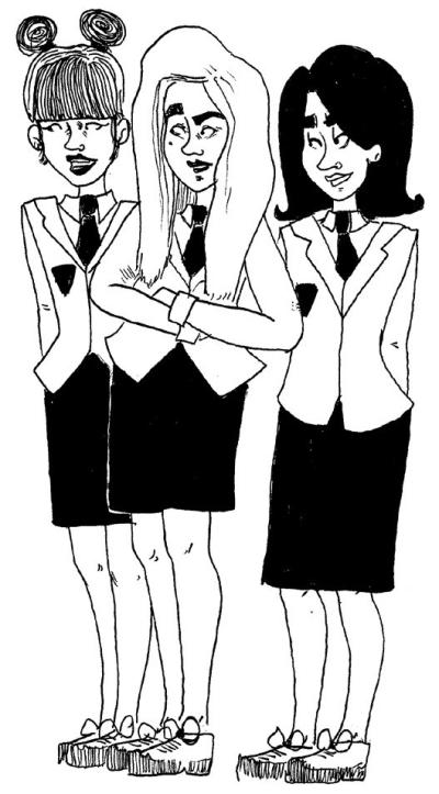 Candice et copines
